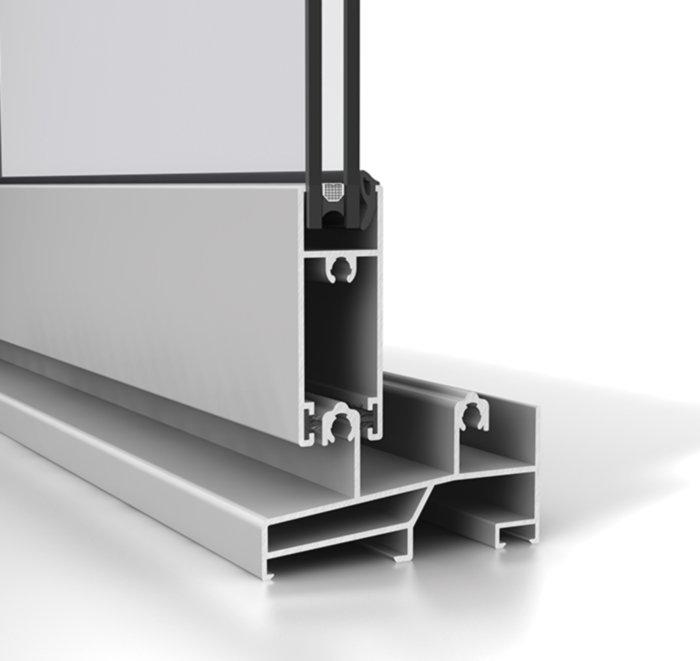 Corredera aluminio S92