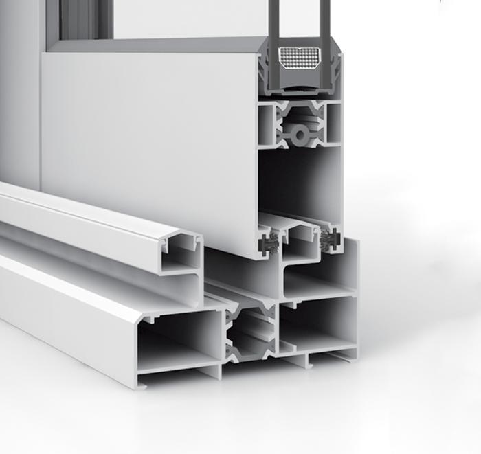 Corredera aluminio S86RP