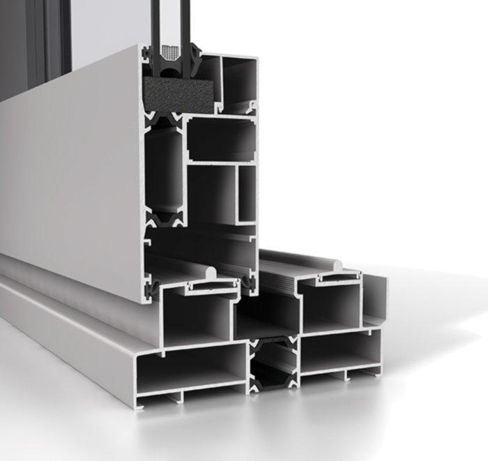 Corredera aluminio S125RP
