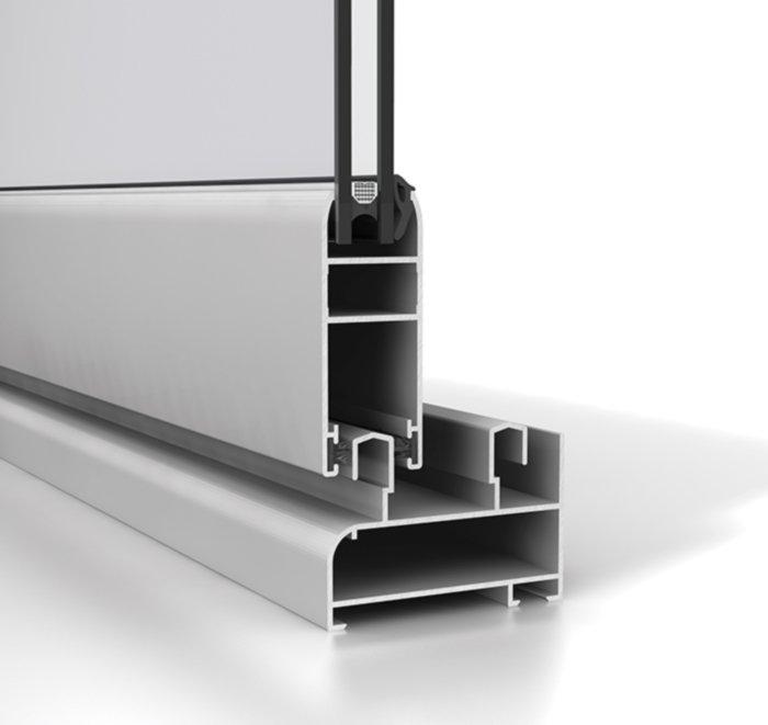 Corredera aluminio S60P