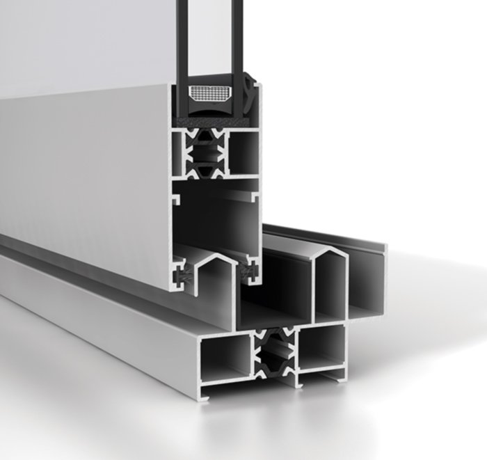 Corredera aluminio S68RP
