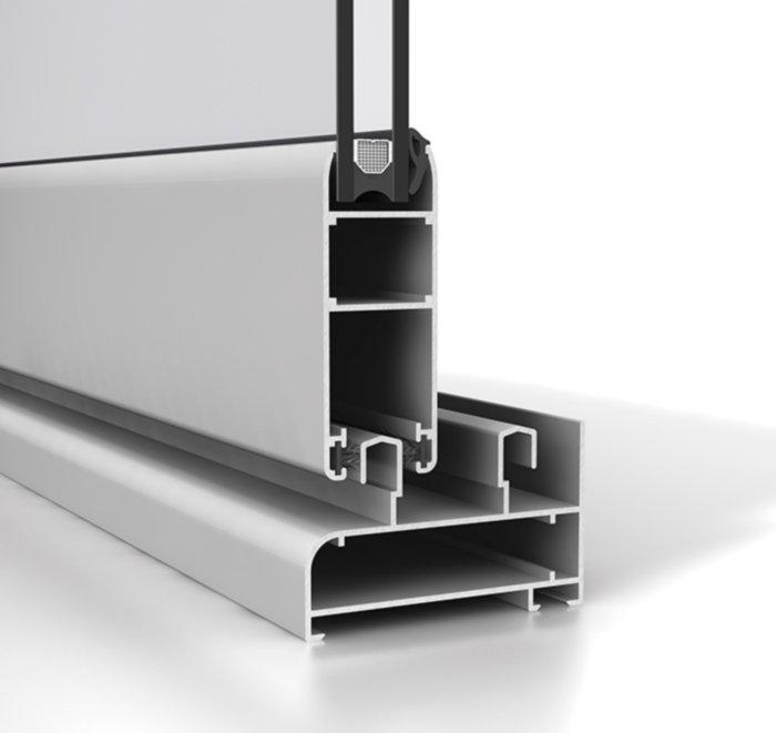 Corredera aluminio S70P